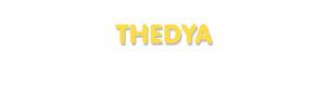 Der Vorname Thedya