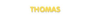 Der Vorname Thomas