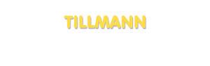 Der Vorname Tillmann
