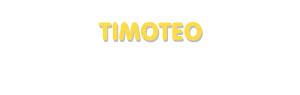 Der Vorname Timoteo