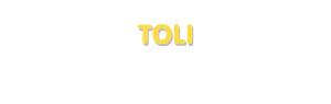 Der Vorname Toli