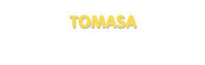 Der Vorname Tomasa