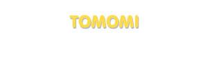 Der Vorname Tomomi