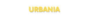 Der Vorname Urbania