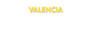 Der Vorname Valencia
