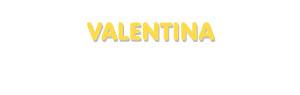 Der Vorname Valentina
