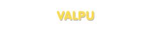 Der Vorname Valpu