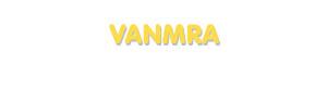 Der Vorname Vanmra