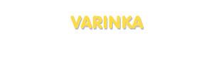 Der Vorname Varinka
