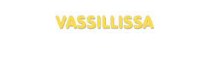 Der Vorname Vassillissa