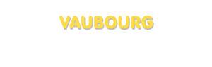 Der Vorname Vaubourg