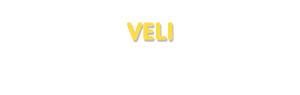 Der Vorname Veli