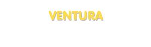 Der Vorname Ventura