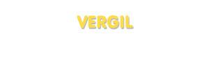 Der Vorname Vergil