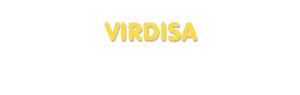 Der Vorname Virdisa