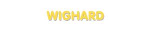 Der Vorname Wighard