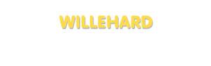 Der Vorname Willehard
