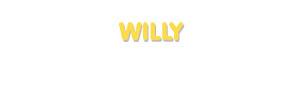 Der Vorname Willy