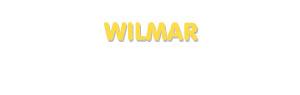 Der Vorname Wilmar
