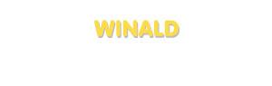 Der Vorname Winald