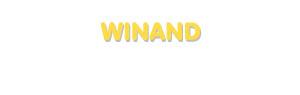 Der Vorname Winand