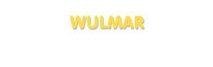 Der Vorname Wulmar