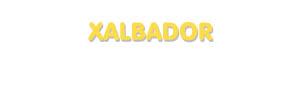 Der Vorname Xalbador