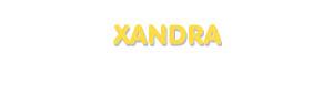 Der Vorname Xandra