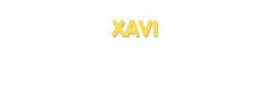 Der Vorname Xavi
