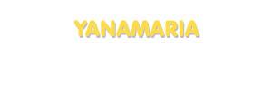 Der Vorname Yanamaria