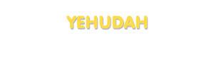 Der Vorname Yehudah