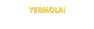 Der Vorname Yermolai