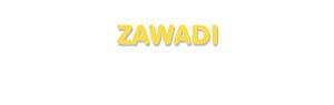 Der Vorname Zawadi