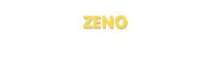 Der Vorname Zeno
