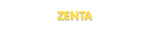 Der Vorname Zenta