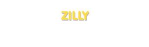 Der Vorname Zilly
