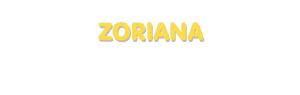 Der Vorname Zoriana