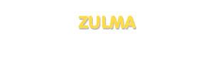 Der Vorname Zulma